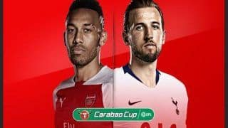 EFL Carabao Cup Arsenal vs Tottenham Live Streaming in India - Preview, Team News, When And Where to Watch Online