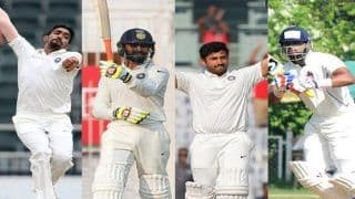 Indian Cricket Stars Jasprit Bumrah, Ravindra Jadeja, Karun Nair and Shreyas Iyer Celebrate Their Birthdays, BCCI Wishes