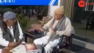 मध्यप्रदेश चुनावः बाबूलाल गौर ने कांग्रेस प्रत्याशी को दी जीत की बधाई, कहा- आप मंत्री बन रहे हैं! देखें Video