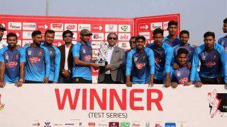 बांग्लादेश ने हासिल की ऐतिहासिक टेस्ट जीत, वेस्टइंडीज को 2-0 से हराया