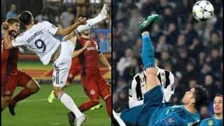 Year-Ender 2018: Best Goals of 2018 Starring Cristiano Ronaldo, Lionel Messi, Luka Modric, Zlatan Ibrahimovic And Arsenal | WATCH