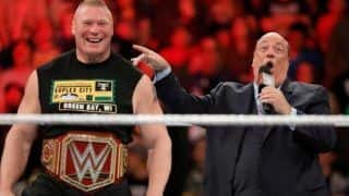 WWE Universal Title Champion Brock Lesnar Reschedules For Early Comeback in RAW