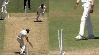VIDEO: बुमराह ने कंगारू खिलाड़ी को दिया गच्चा, देखें किस तरह यॉर्कर से उखाड़े स्टम्प्स