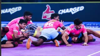 Pro Kabaddi League 2018: Deepak Hooda's 8 Raid Points Lead Jaipur Pink Panthers To Victory Against Puneri Paltan