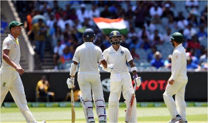 3rd Test Melbourne, Australia vs India: Cheteshwar Pujara's Sensational Hundred, Virat Kohli's Gritty 82 Put India in Command Against Australia at MCG on Day 2
