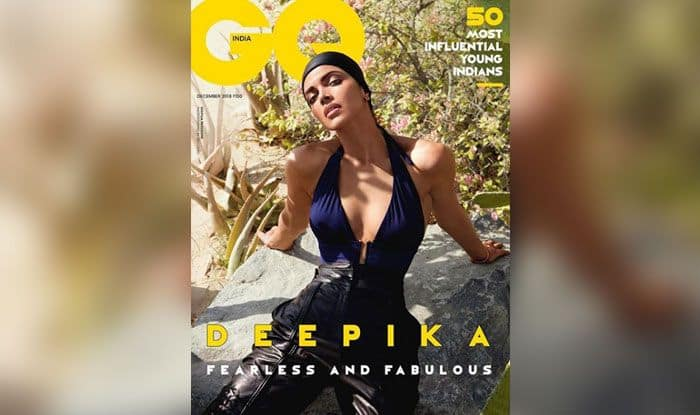 Deepika Padukone Looks 'Fearless and Fabulous' as She Graces Cover of December Issue of GQ India