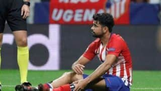 Atletico Madrid's Diego Costa Sidelined After Sustaining Injury Ahead of La Liga Clash Against Girona