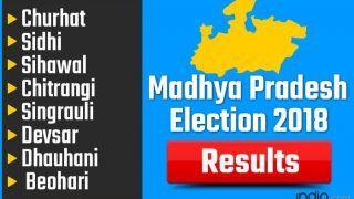 Madhya Pradesh Election 2018 Results: Churhat, Sidhi, Sihawal, Chitrangi, Singrauli, Devsar, Dhauhani, Beohari Vote Counting Live Updates