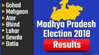 Madhya Pradesh Election 2018 Results: Gohad, Mehgaon, Ater, Bhind, Lahar, Sewda, Datia Vote Counting Live Updates