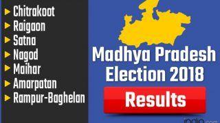 Madhya Pradesh Election 2018 Results: Chitrakoot, Raigaon, Satna, Nagod, Maihar, Amarpatan, Rampur-Baghelan Vote Counting Live Updates