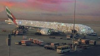 Picture of Diamond-Studded Emirates Aircraft Goes Viral. Who is Behind Its Creation?