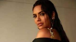 Esha Gupta Looks Spicy Hot in Leopard Print Monokini in Her Latest Photoshoot - See Pictures