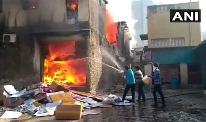 Mumbai: Level 2 Fire Breaks Out in Cloth Factory at Damu Nagar, Another One in Godown in Bhiwandi