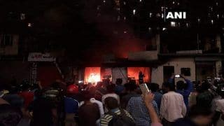 Maharashtra: Fire Breaks Out at Furniture Shop Near Muchhala College in Thane