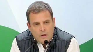 Assembly Election 2018: 'Opposition United, BJP Will Find it Hard to Win 2019 Lok Sabha Elections' Says Rahul Gandhi