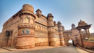 Gwalior Fort Houses Some of The Most Regal Palaces of Ancient History