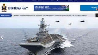 Indian Navy Recruitment 2019: Vacancies For Short Service, Permanent Commission Officer Posts Available; Check at joinindiannavy.gov.in
