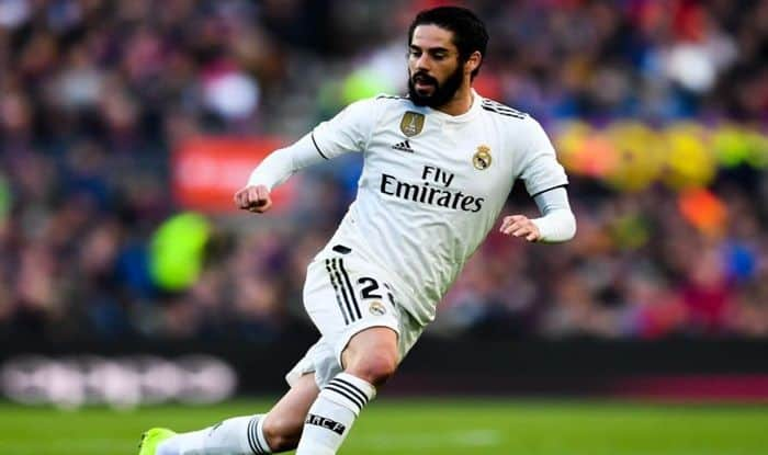 Santiago Solari praises out of favour Isco after Copa del Rey double