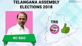 Telangana Assembly Election Results 2018: K Chandrashekhar Rao's TRS Registers Landslide Victory, 'Praja Kutami' Decimated