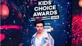 Kartik Aaryan Helps Lost Child Find His Parents at Nickelodeon Kids' Choice Awards 2018