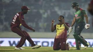 Bangladesh vs West Indies 3rd T20I: Keemo Paul, Evin Lewis Hand Windies T20I Series Win Against Shakib-Al Hasan-Led Bangladesh