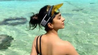 Lust Stories Actress Kiara Advani Looks Hot in Sexy Black Bikini as She Flaunts Her Flawless Beauty During Her Vacation - See Picture