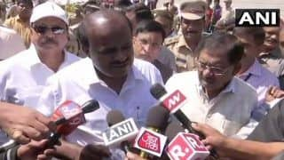 'Why Should I Resign,' Karnataka CM HD Kumaraswamy Hits Back at BJP Over Demands For Him to Quit