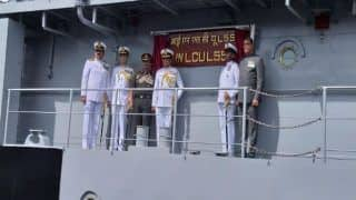 Fifth Landing Craft Utility (LCU) Ship Commissioned Into Indian Navy