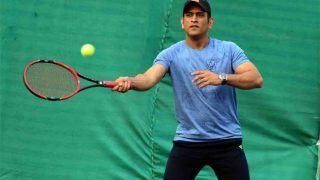 क्रिकेट के बाद टेनिस में चैम्पियन बने धोनी, पहले ही टूर्नामेंट में हासिल की जीत