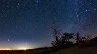 Geminid Meteor Shower 2018 in India: Know Timings to Witness The Celestial Phenomenon; NASA to Live Steam Event