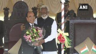 MNF Chief Zoramthanga Takes Oath as Mizoram Chief Minister