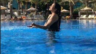 Bhojpuri Sensation Monalisa's Latest Picture With Her 'Pool Baby' is Sure to Give You 'Summer Chills'