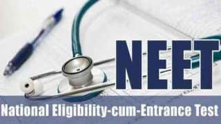 NEET 2019: Correction Window Opens on Monday, to Continue Till Jan 31; Check at ntaneet.nic.in