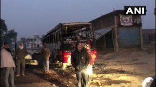 Bihar: One Shot Dead, 4 Buses Set Ablaze by Naxals in Aurangabad; CRPF Present on Spot
