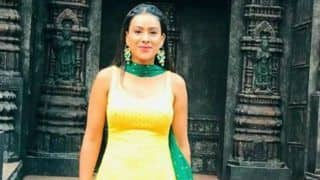 Second Sexiest Asian Woman Nia Sharma Looks Super Hot in Bright Yellow And Green Ethnic Wear - See Pictures