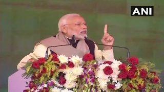 कांग्रेस देश व सेना को कमजोर करने वाली ताकतों के साथ खड़ी है: पीएम मोदी