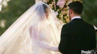 Priyanka Chopra, Nick Jonas Share an Emotional Moment as They Become Man And Wife - Watch Here