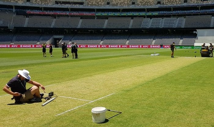Perth wicket for second Test between India and Australia_BCCI
