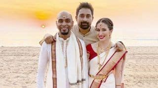 Raghu Ram And Natalie Di Lucio Tie The Knot in a South Indian Ceremony in Goa
