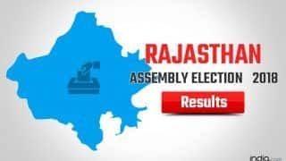Rajasthan Election Results 2018 News Updates: Congress Heads Towards Win; Sachin Pilot, Ashok Gehlot in CM Race