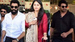 Baahubali Cast Reunites For SS Rajamouli's Son Karthikeya's Wedding; Anushka Shetty, Prabhas, Rana Daggubati Clicked in Jaipur - See Photos