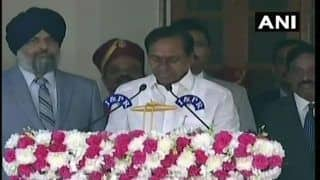 K Chandrashekhar Rao Takes Oath as Telangana Chief Minister For Second Consecutive Time