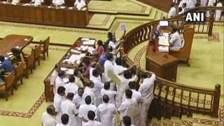 Sabarimala Case: Opposition Protest in Favour of Withdrawal of Section 144; Kerala Assembly Adjourned For Day