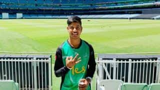 BBL Big Bash League 2018-19: IPL Prodigy Sandeep Lamichhane Impresses On Debut For Melbourne Stars, Scalps Shane Watson With Googly   WATCH VIDEO