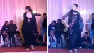 Haryanvi Bombshell And Chetak Fame Sapna Choudhary Flaunts Her Sexy Thumkas on Haryanvi Song Jalebi in Dehradun - Watch Video