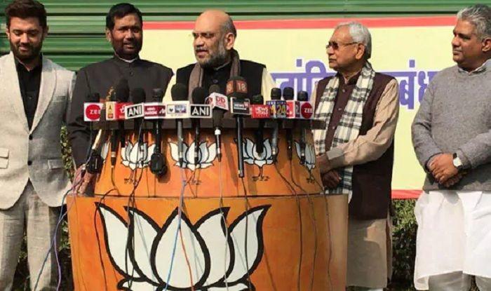 NDA Seals Bihar Deal For 2019 Lok Sabha Elections: BJP, JD(U) to Fight on 17 Seats Each; LJP Gets 6