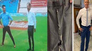 LIVE TV शो में शॉन पोलक की फटी पैंट, VIDEO देख हंसी नहीं रोक पायेंगे आप