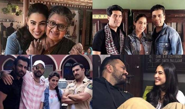Sara Ali Khan Writes Emotional Post as She Shares Unseen Pictures From Simmba Set