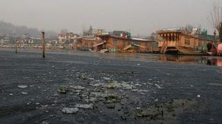 Srinagar Experiences Coldest Night in 11 years, Mercury Drops to Minus 6.8 Degree Celsius