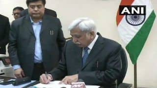 Sunil Arora Takes Charge as New Chief Election Commissioner of India